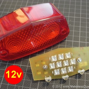 12v Lucas 564 LED light