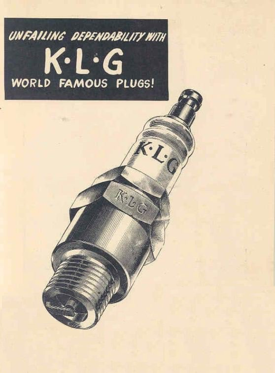 modern equivalents for classic klg spark plugs  u2022 matchless