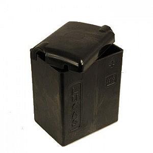 An example of a dummy Lucas battery case