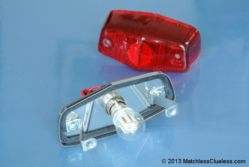 12v Lucas 525 Led Stop And Tail Light Matchless Clueless