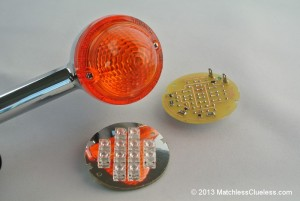 What's included in the LED indicator kit (note: not the indicator stalk shown)