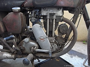 Matchless G3Ls engine