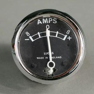 motorcycle ammeter wiring ammeter wiring diagram omc 172995