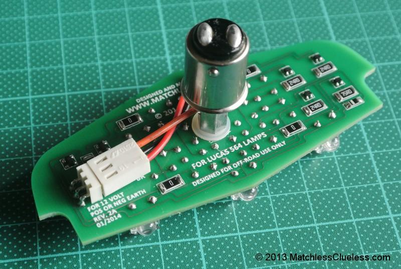12v Lucas 564 LED light board kit