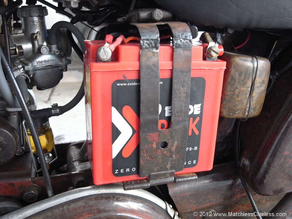 Motorcycle Battery Voltages And What They Mean Matchless Clueless 14 Volt Wiring Diagram A Typical Lead Acid