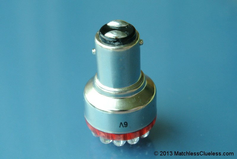 6v Lucas 529 Led Stop And Tail Light Matchless Clueless