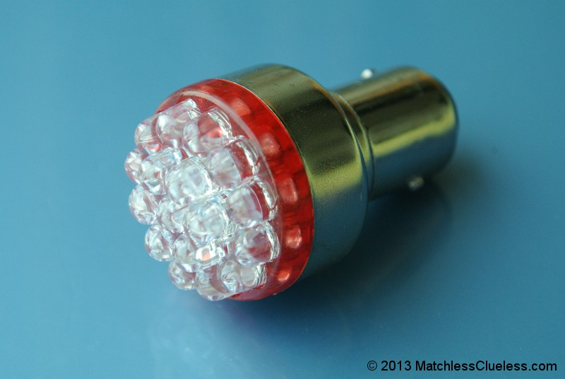 6v extra bright red led stop and tail light matchless. Black Bedroom Furniture Sets. Home Design Ideas
