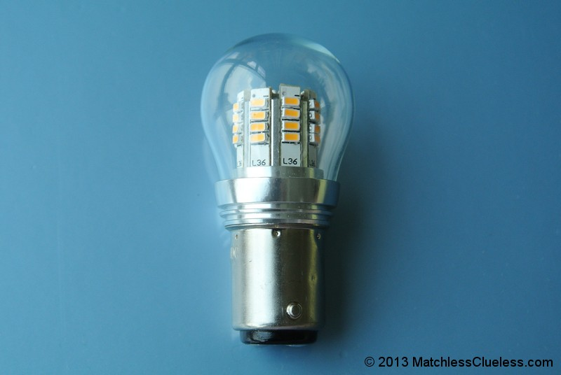 12v Lucas 529 Led Stop And Tail Light Matchless Clueless