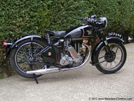 My 1949 Matchless G3L before restoration