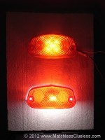 LED rear light comparison