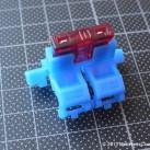 In-line blade fuse holder