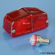 6v LED light for Lucas 564 tail lamps