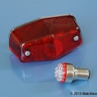 6v Lucas 525 LED stop and tail light