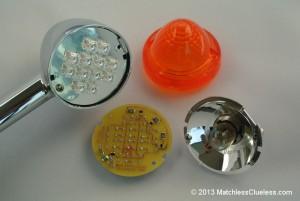 The Triumph Bonneville LED indicator conversion kit