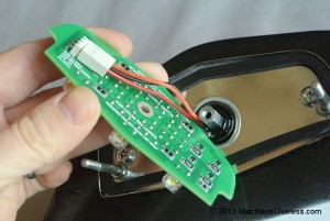 Installing the LED light board