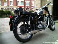 Raglan's 1955 650cc BSA A10